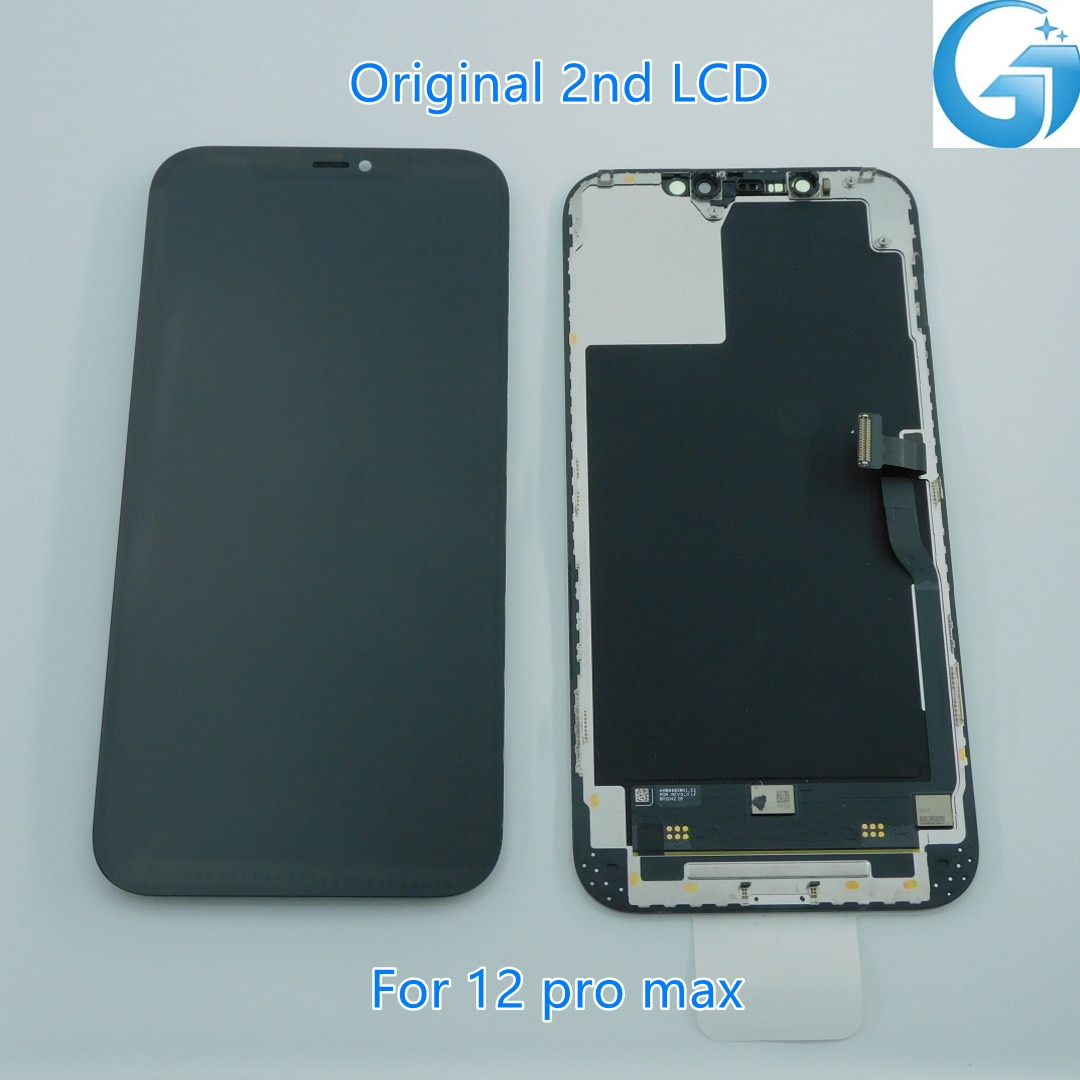 Promo 100%Original Screen For iphone 12 pro max LCD Touch Digitizer Cellphone Display Replacement Assembly Parts