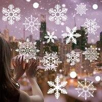 Autocollants muraux flocon de neige pour decoration de mariage  pour fenetre en verre  pour maison  noel  anniversaire  chambre denfant  DIY bricolage