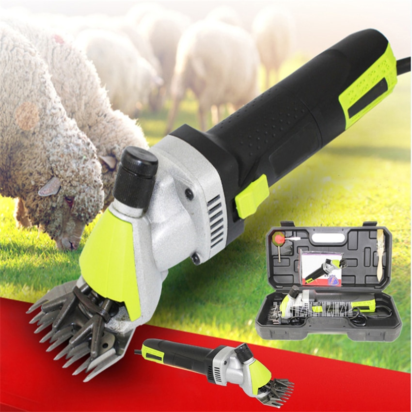 N1J-GM01-76 Electric Wool Shears Portable Electric Animal Hair Shearing Clipper Farm Shears Cutter Wool Scissor 110V/220V 500W