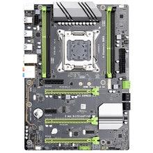 Carte mère noire de jeu de X79-P3, prise en charge de LGA 2011 ATX pour le processeur de noyau de Xeon 4X32GB 128GB mémoire RAM DDR3 PCI-E X16 pour le bureau