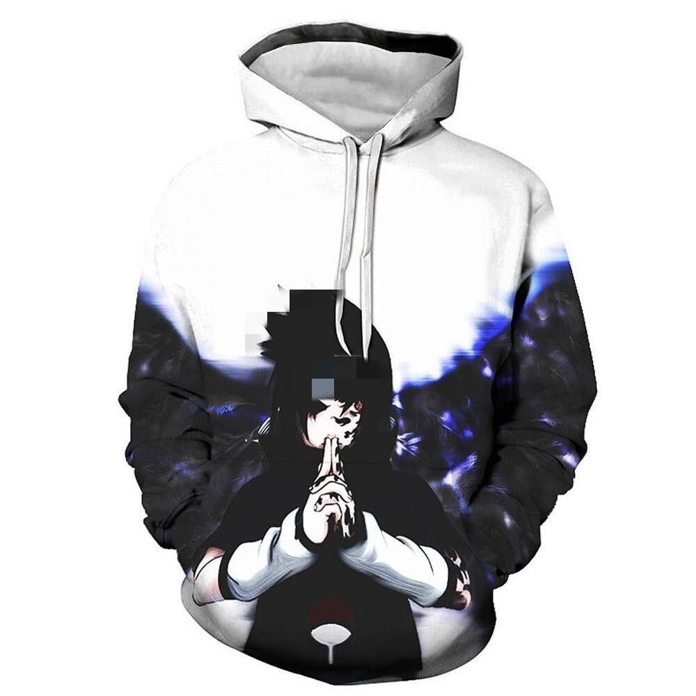 Fashion Anime    3D Hoodies Sweatshirt Thin Coat Men Women Harajuku Hoody Streetwear