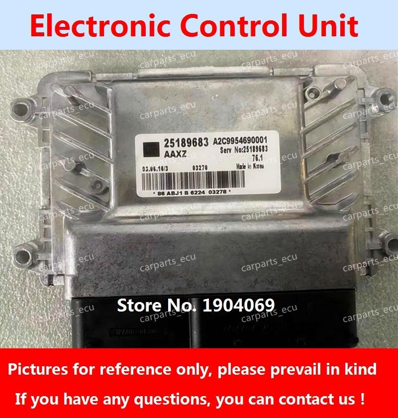 ل G-M كروز 1.6 MT 1.8 AT محرك السيارة مجلس الكمبيوتر/ECU/وحدة تحكم إلكترونية/25189683/25189682/25181280/25188082/25184173