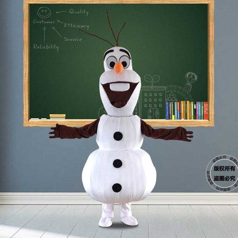 Снеговик мультфильм кукла костюм фильм и телевидение Анимация Косплей Реквизит активность выступление Кукла Одежда головной убор тема