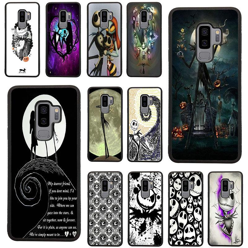 Carcasas rígidas de TPU para teléfono móvil de Jack skeleton para Samsung Galaxy A5 A7 A8 J3 J4 J6 J7 J8 2017 2018 S7 S8 S9 S10 Pluss