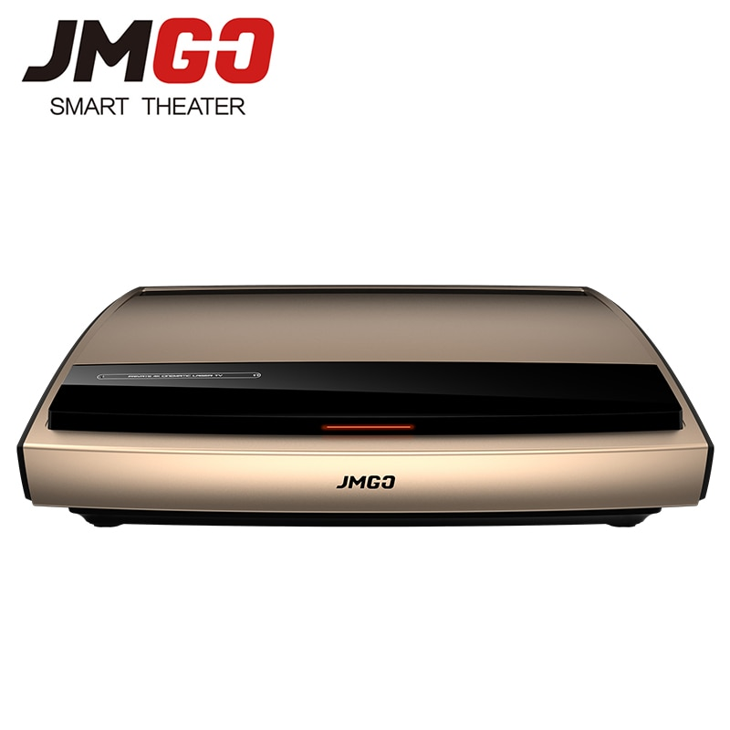 JMGO 4K Laser Projector S3, 3840x2160 dpi, 3000 ANSI Lumen. 300 Inches Enorme Scherm voor Home Cinema. Video Beamer. WIFI/Bluetooth