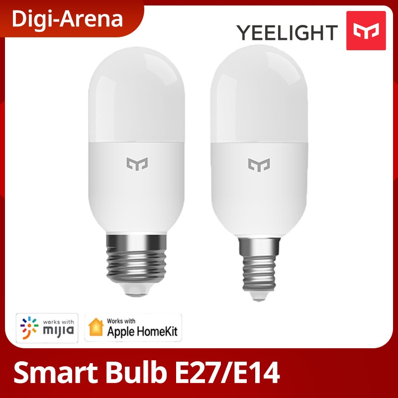 Yeelight الذكية LED لمبة M2 بلوتوث شبكة E27 E14 عكس الضوء ضوء مصباح درجة حرارة اللون APP التحكم ل شاومي mi المنزل Homekit