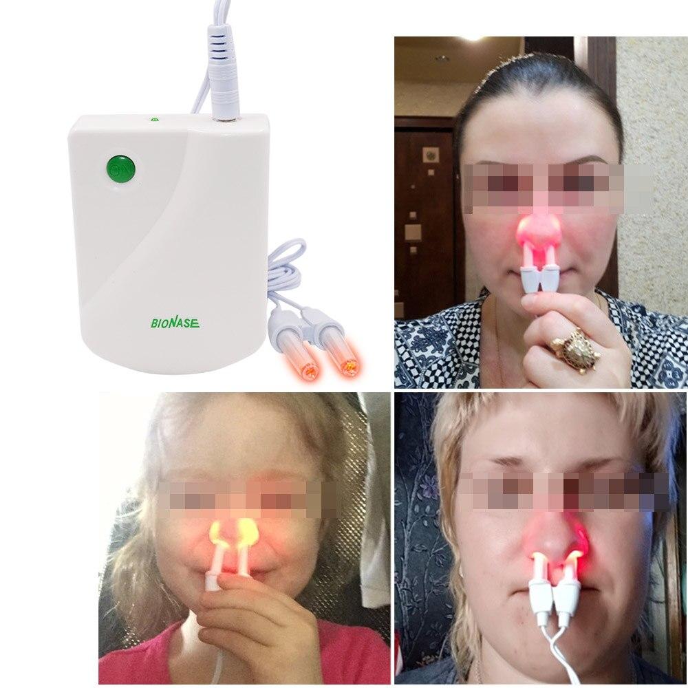 BioNase rinitis, nariz Sinusitis cura terapia fiebre del heno de baja frecuencia de pulso láser instrumento Sinusitis alergias niños adultos Tratar