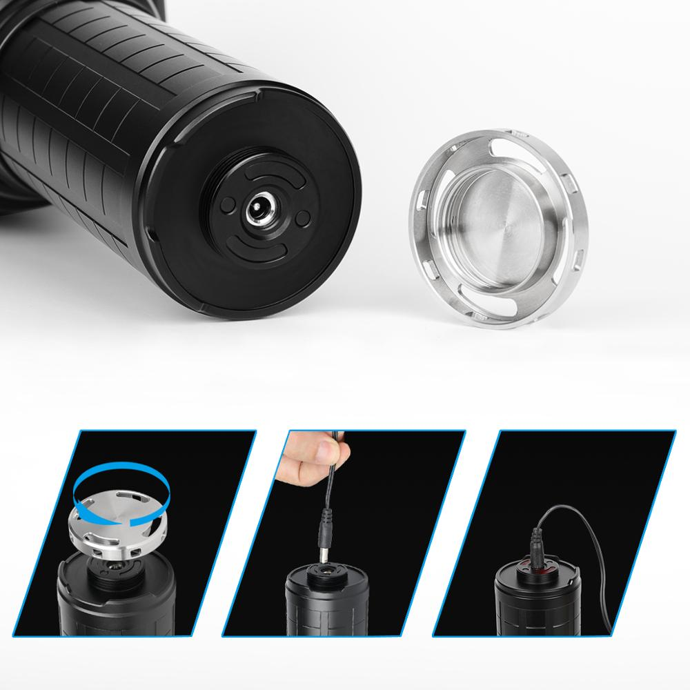 IMALENT MS18 100000LM 8files LED Super Powerful Light Flashlight CREE XHP70.2 Searchlight Fishing Outdoor Self Defense Torch enlarge