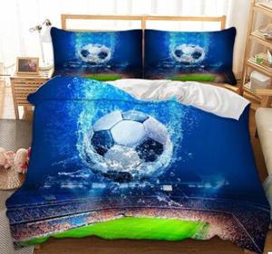 Football Bedding Set 3D Duvet Cover Twin Full Queen King bedclothes Home Textiles dropshipping