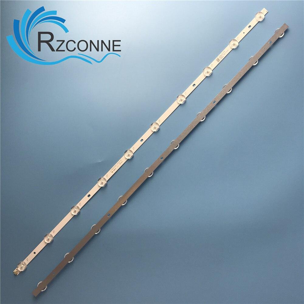 645mm led backlight strip 10 lâmpada para rca rtu6549 atyme 650am7ud tv JL.D650A1235-031DS-M