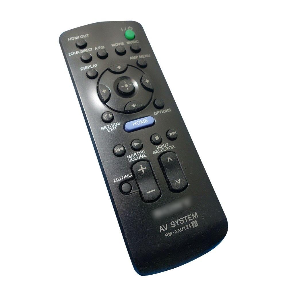 Original Remote Control RM-AAU124 For SONY AV System RM AAU124 for STR-DA5300ES STR-DA5700ES STR-DA5800ES недорого