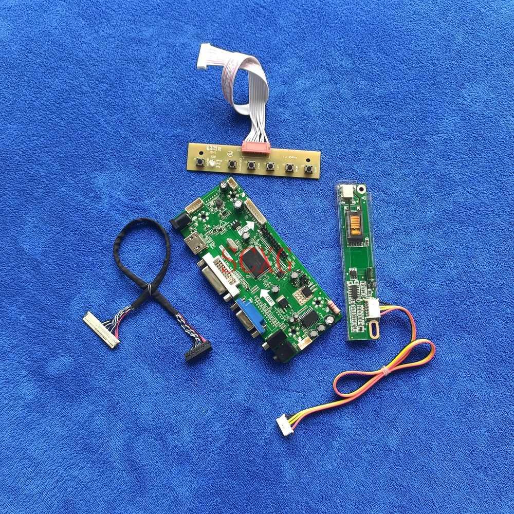 HDMI-متوافق DVI VGA لتقوم بها بنفسك عدة LCD مصفوفة M.NT68676 محرك تحكم مجلس 1280*800 30 دبوس LVDS 1CCFL ل LTN141W1/LTN141W3-L01