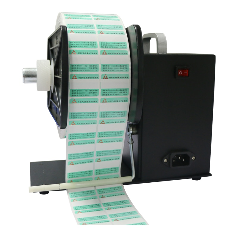 Rebobinadora automática de etiquetas autoadhesivas, máquina rebobinadora de rebobinado sincrónico U5, máquina etiquetadora rebobinadora de 90m