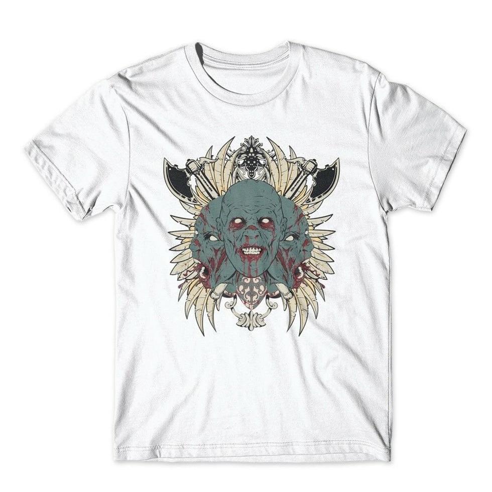 Camiseta de Cerberus. 100% algodón camiseta Premium nuevo humor camiseta