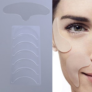 Silicone Reusable Face Lifting Smooth Skin Patch New Anti Wrinkle Eye Lines Chin Pad