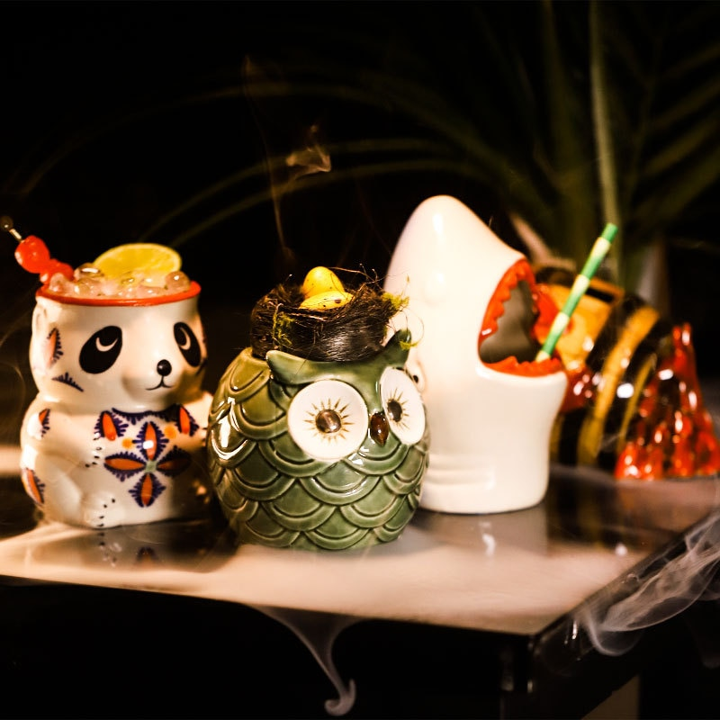 Керамические кружки, Коктейльная чашка, кружка для пива, напитков, кружка для вина, керамическая кружка для Хэллоуина, кружка для пива, барны...