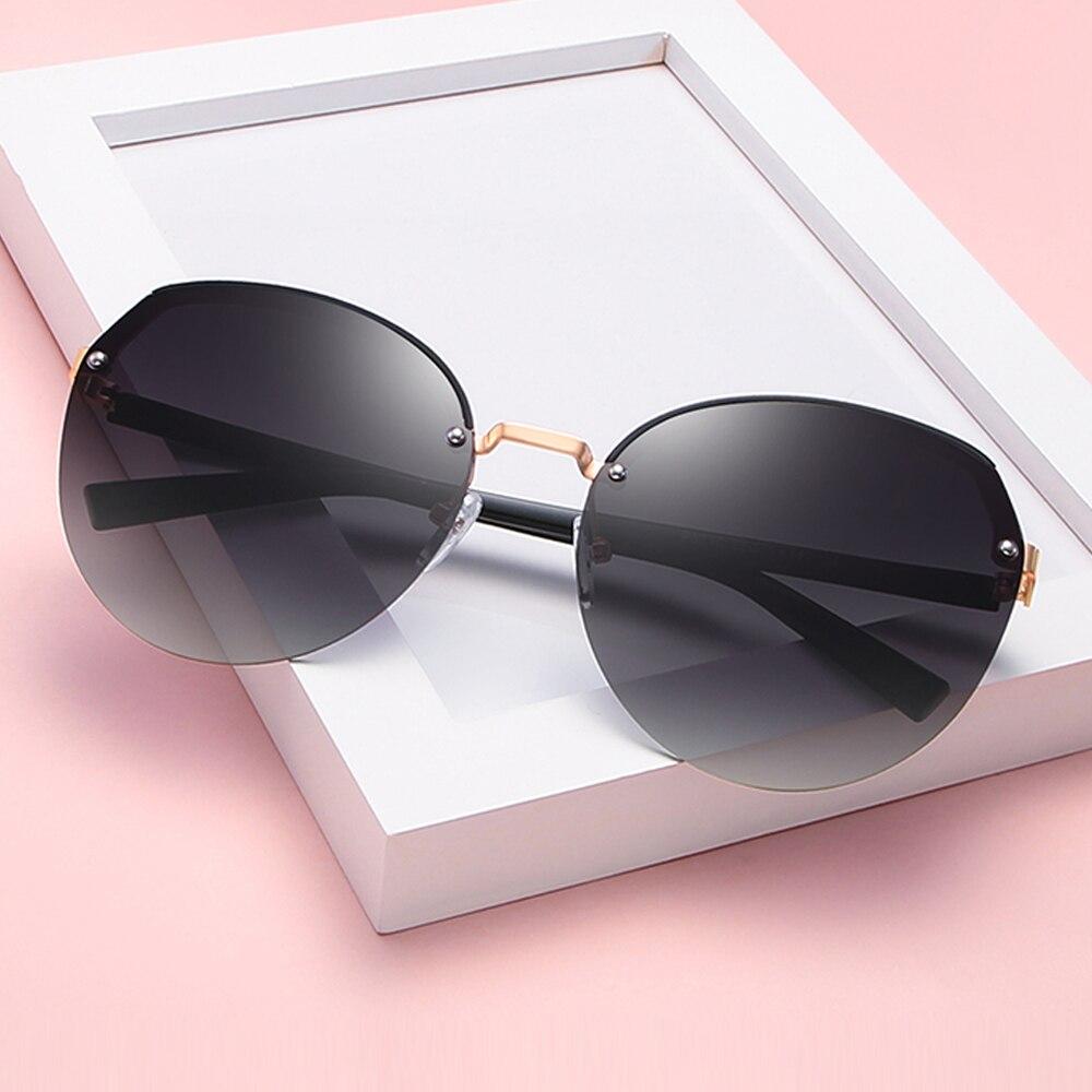 2021 UV400 Polarized Women Sunglasses Driving For Glasses Black/Purple/Red/Tea 5 ColorS  With Box,Case