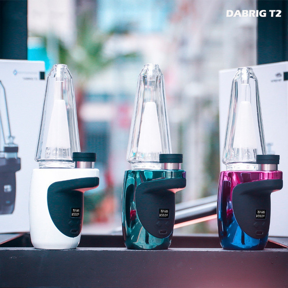 Electric Dab Rig T2 Dabcool 1500mah Battery Settings Wax Pipe Concentrate Shatter Budder Electronic Hookah Smoking Set enlarge