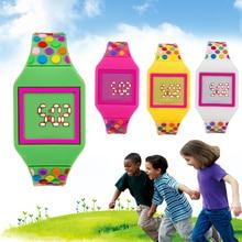 Children Led Digital Electronic Sport Watch Girls Boys Electronic Watch Kids Watches Children Studen