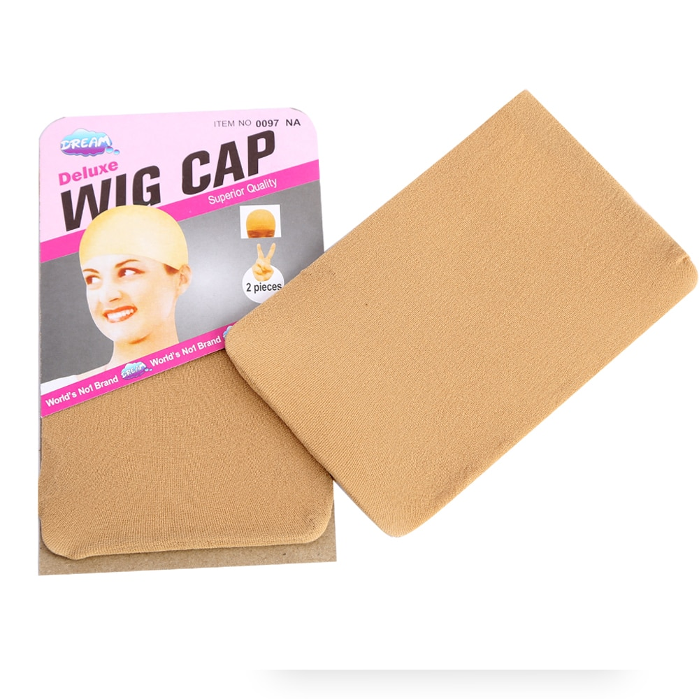 Wig Cap Brown Stocking Cap for Body Wave HD Transparent Lace Frontal Wig Elastic Liner Mesh For Making Wigs