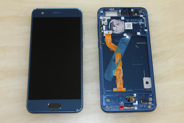 Original For Huawei honor 9 STF-AL00 AL10 LCD Display with frame with fingerprint Touch Screen Digitizer Assembly Replacement enlarge