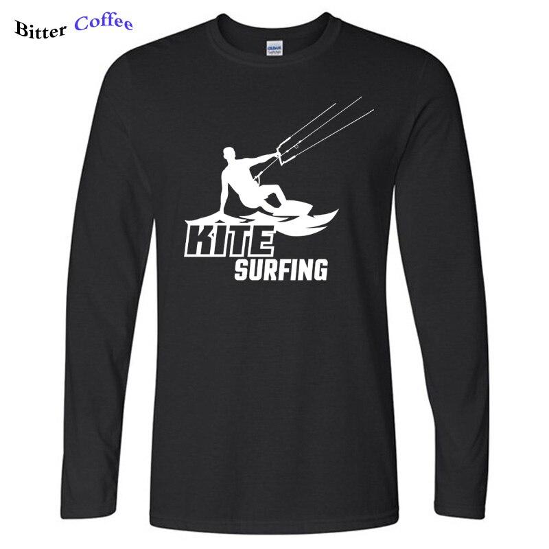 Nueva camiseta de otoño para hombre, Camiseta con estampado de moda para hombre, ropa de manga larga para hombre, camiseta personalizada con cuello redondo de algodón 100% de talla grande