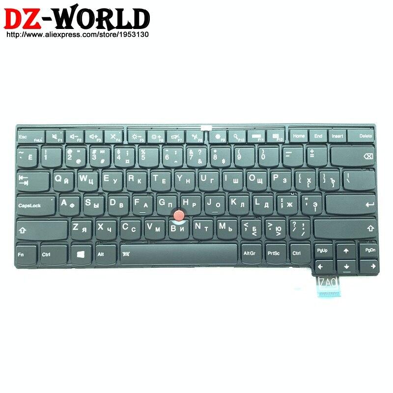لوحة مفاتيح روسية بإضاءة خلفية جديدة أصلية لـ Thinkpad T460s ، لأجهزة الكمبيوتر المحمول Teclado 00PA475 01YR111 00PA557 SN20H42469
