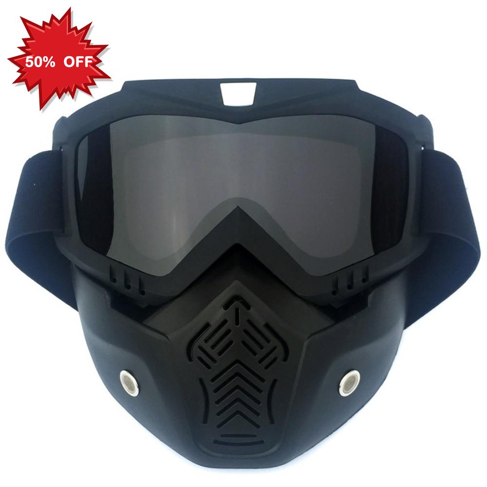 Маска для езды на мотоцикле, солнцезащитные очки для езды на мотоцикле, очки для близорукости, очки с линзами из поликарбоната, видимые HD