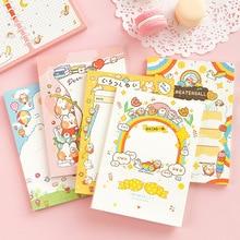 50 seiten/Pack Große Größe Nette Kaninchen Regenbogen Memo Pad Papier Notepad Schule Büro Liefern Student Schreibwaren Kid Geschenk