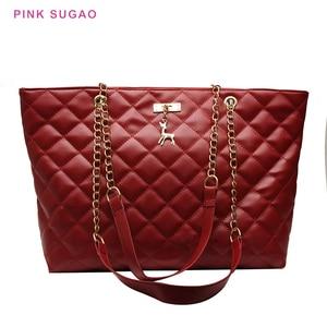 Pink Sugao Luxury Handbags Women Bags Designer Fashion Women Shoulder Bag Ladies Hand Bag Tote Bag Purses And Handbags Wholesale