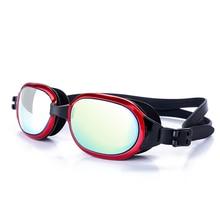 Swimming Goggles Glasses Unisex Plating Waterproof Anti-fog Swimming Glasses UV Protection Diving Eyewear