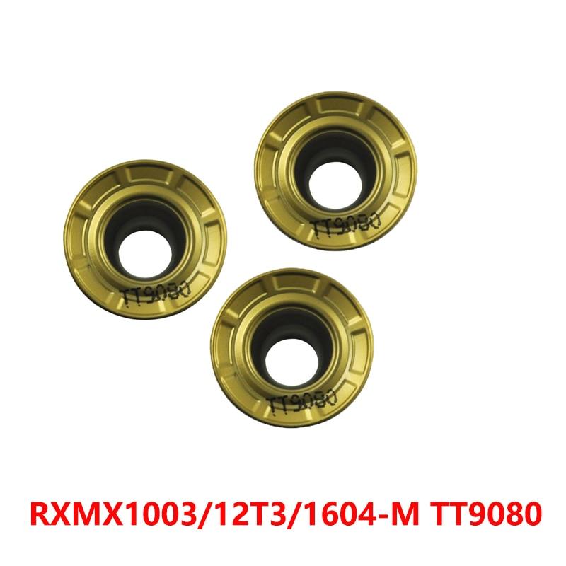 RXMX1003-M RXMX12T3-M RXMX1604-M TT9080 RXMX 1003 12T3 1604 جولة كربيد مخرطة القاطع تحول CNC قطع 100% الأصلي
