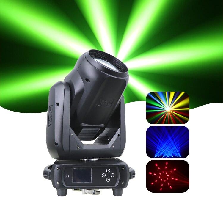 ديسكو 250 واط شاربي بقعة غسل 10r تتحرك رئيس شعاع أضواء 12 لون 4 تأثير اللون الأبيض ، 14 نمط قطع الأبيض IP20 الحدث أوم