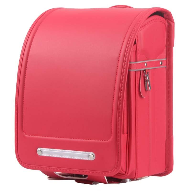Japanese Randoseru School Backpacks for Teenagers Boys and Girls Orthopedic Satchel Kids Large Capacity Primary Schoolbag