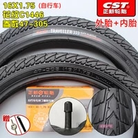 cst 16 inch tire 16x1 75 bicycle tire 47 305 folding electric vehicle 16 1 75 electric vehicle butyl rubber inner tube