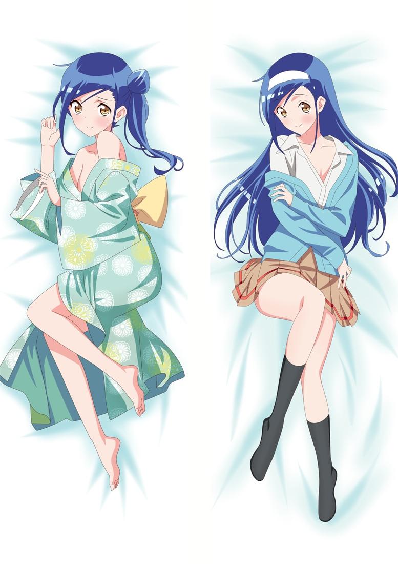 Nunca aprendemos funda de almohada Otaku japonés Waifu funda de almohada grande de doble cara funda de almohada estampada