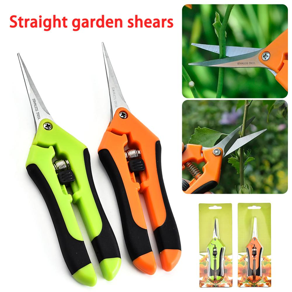 AliExpress - Garden Pruning Shears Stainless Steel Pruning Tools Hand Pruner Cutter Grape Fruit Picking Weed Household Potted Branches Pruner