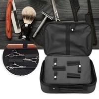 portable nylon hairdressing storage organizer handbag barbershop hair salon equipment storage styling tool barber supplies box