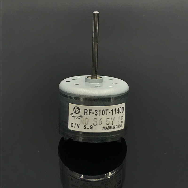 MABUCHI RF-310T-11400 D/V 5.9  Micro Motor DC 5.9V  Round 24mm Long Shaft CD DVD Player Spindle Electric Motor