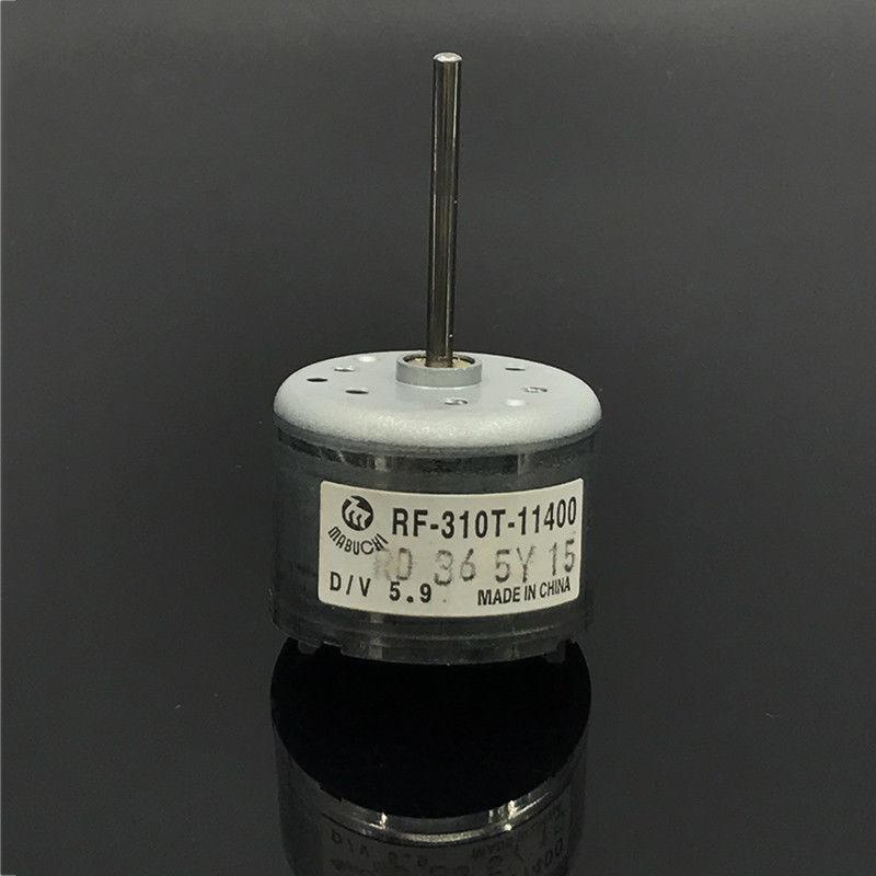 MABUCHI RF-310T-11400 D/V 5,9 микро двигатель постоянного тока 5,9 в круглый 24 мм Длинный вал CD dvd-плеер шпиндель электродвигатель
