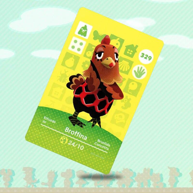 329 broffina nfc impressão cartões ntag215 impresso cartão para jogos