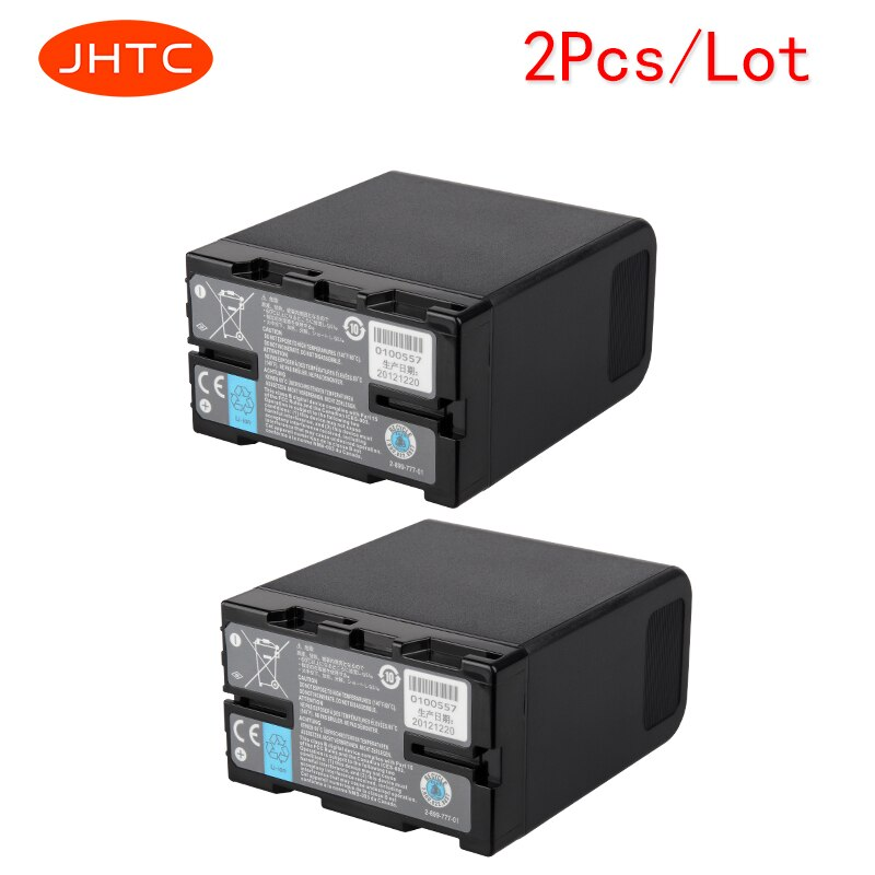 JHTC 2 pçs/lote 6600 mah Bateria para Sony BP-U60 U30 U62 BP-U66 BP-U90 BP-U65 BP-U95 PMW-100 PMW-200 PMW-EX1 PMW-EX1R PMW-F3K