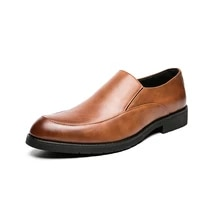 tenis masculino 2021 shoes for men british style slip on genuine leather man brand casual business oxford shoes zapato hombre