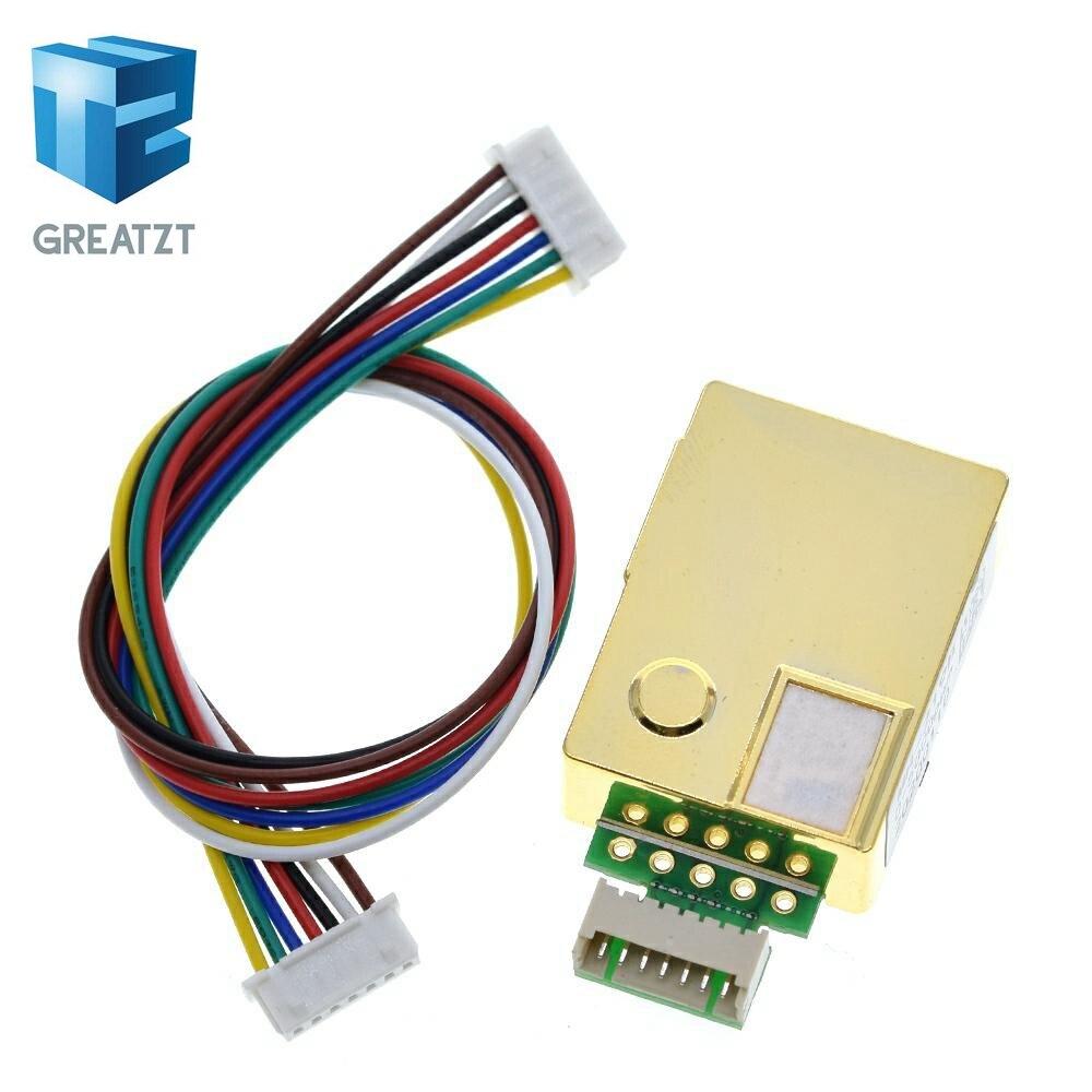 GREATZT MH-Z19 инфракрасный датчик co2 для монитора co2 MH-Z19B инфракрасный датчик углекислого газа co2 0-5000ppm для arduino