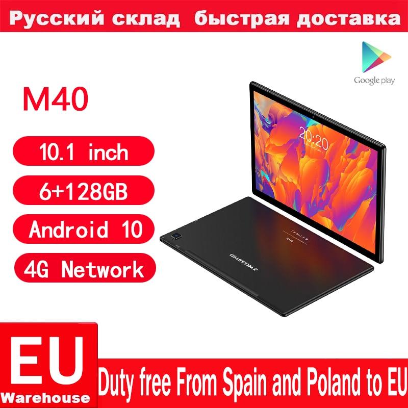Teclast M40 10.1inch Octa Core Dual 4G Network Phone Call Tablets 1920 x 1200 6GB RAM 128GB ROM T618