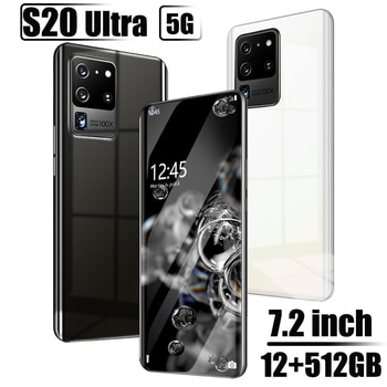 Galay – smartphone S20 Ultra, version globale, 7.2 HDinch, 12 go + 512 go, téléphone portable android 16 + 32MP