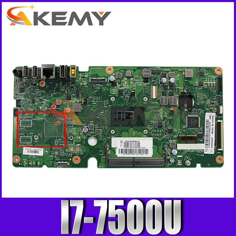 Akemy اللوحة الرئيسية لينوفو 510S-23ISU 520S-23IKU اللوحة ISKLST1 VER:1.0 100% اختبار العمل الكامل ث/i7-7500U UMA