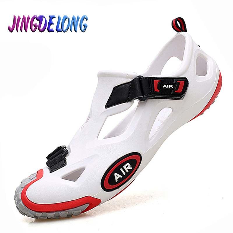 Gran oferta de sandalias de verano para Hombre, Zapatos de agua para exterior, sandalias de playa para Hombre, zuecos, sandalias para Hombre, Zapatos Unisex, zapatillas de deporte para Mujer
