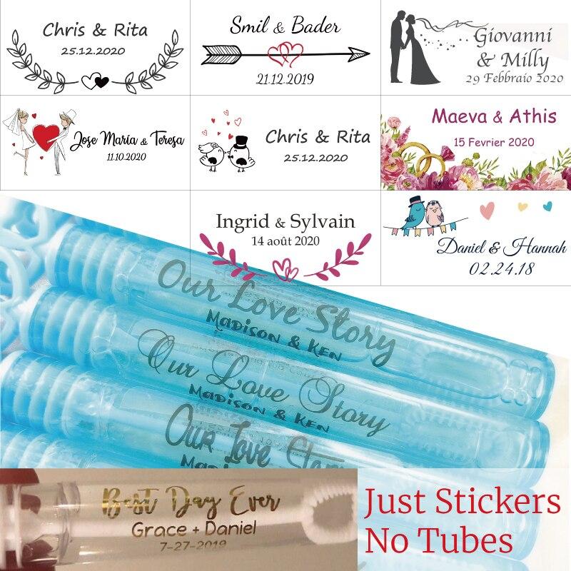 100, персонализированные свадебные наклейки, Пузырьковые наклейки на палочки, прозрачные, настоящие фольгированные этикетки, золотые, глянцевые наклейки для губ