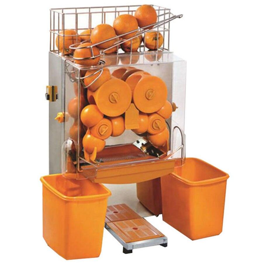 Бесплатная доставка, 220 В, электрическая автоматическая соковыжималка для апельсинов, коммерческая соковыжималка для свежих апельсинов